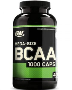 Optimum Nutrition instantized BCAA Capsule