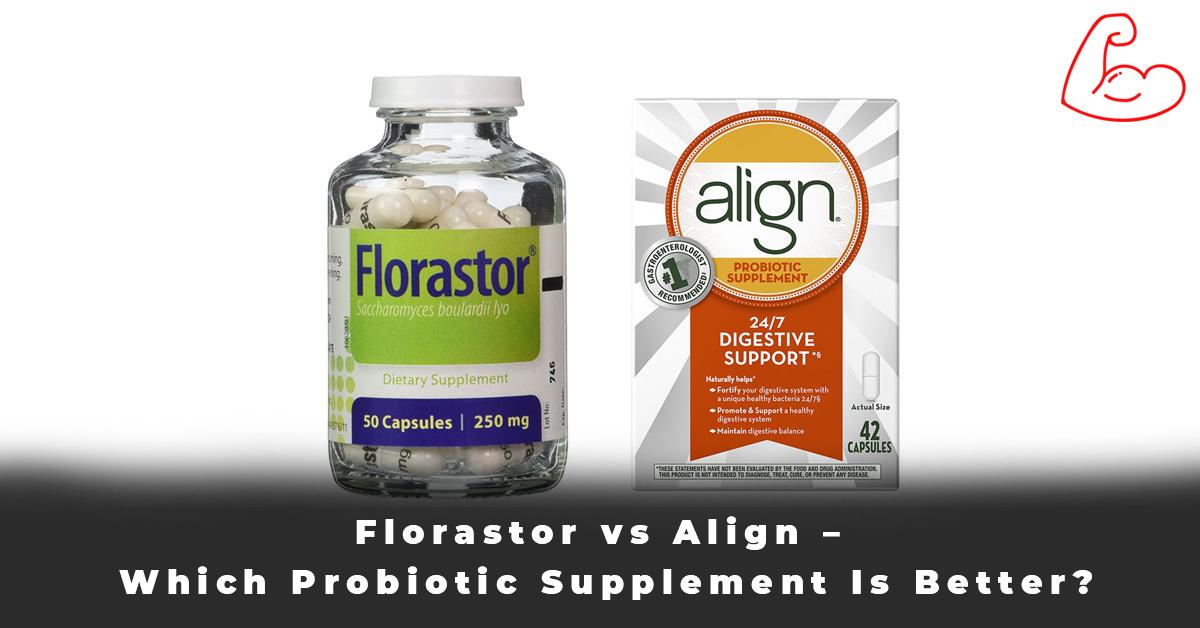 Florastor vs Align – Which Probiotic Supplement Is Better