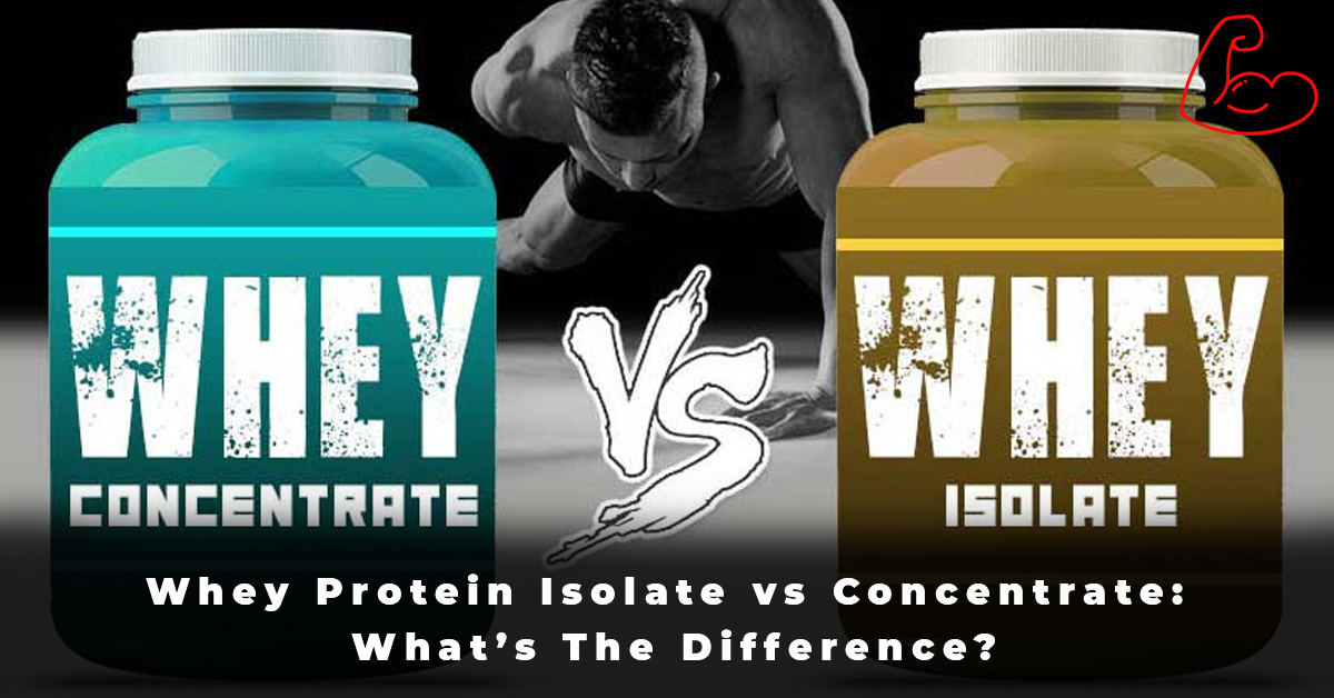 Whey Protein Isolate vs Concentrate What's The Difference