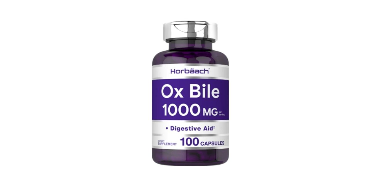 Horbaach Ox Bile 1000 mg