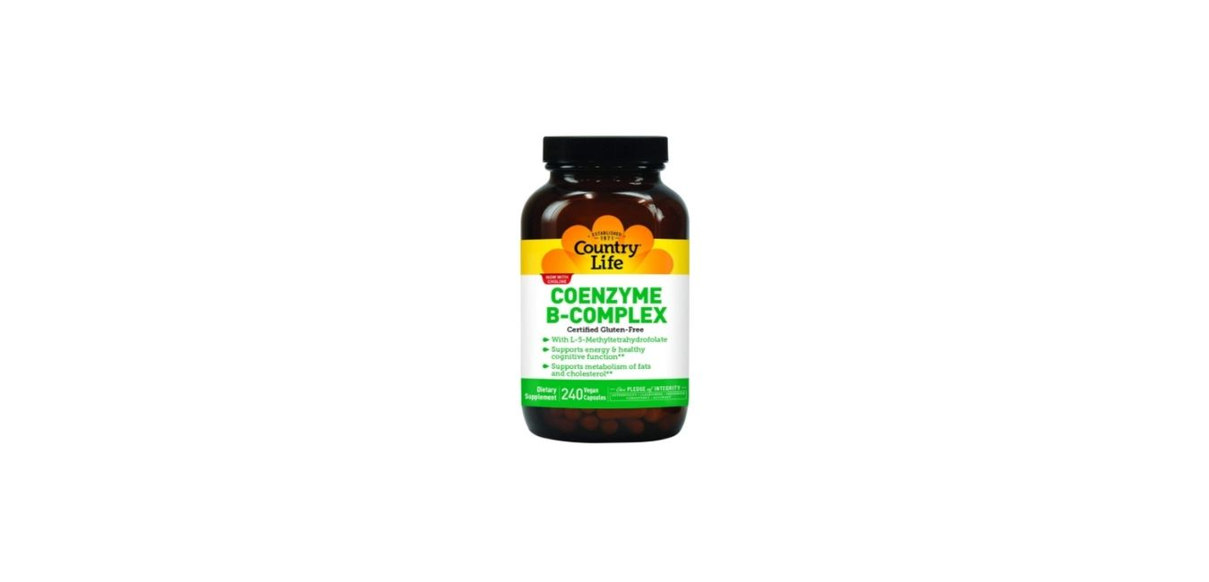 Country Life Coenzyme B Complex Supplements