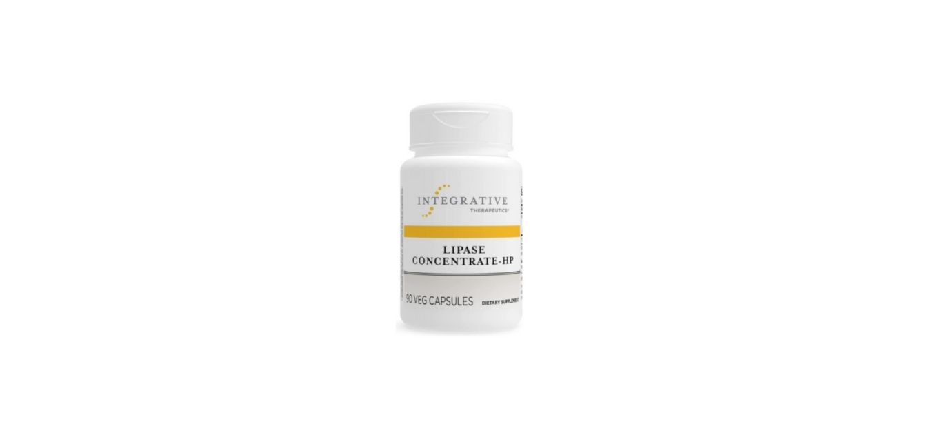 Lipase Concentrate-HP - 90 Veg Capsules