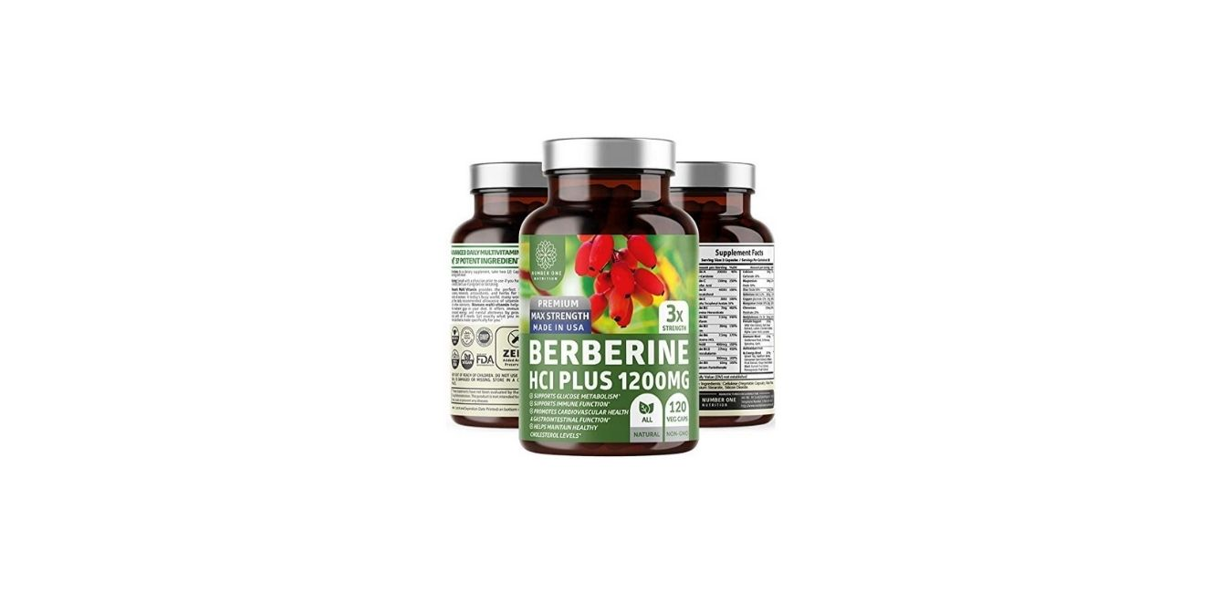 N1N Premium Berberine Plus