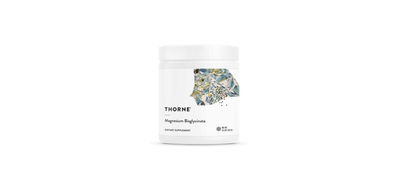 Thorne Research - Magnesium Bisglycinate Powder Supplement